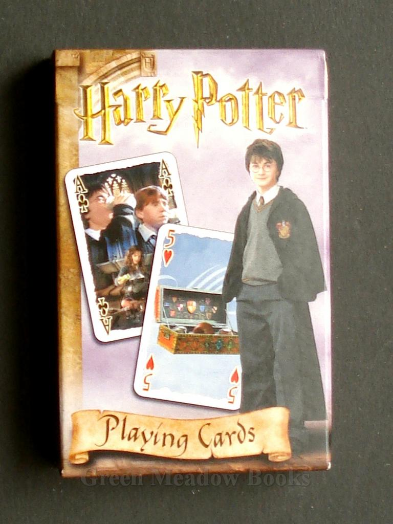 Image for HARRY POTTER  PLAYING CARDS  FROM ...CHAMBER OF SECRETS