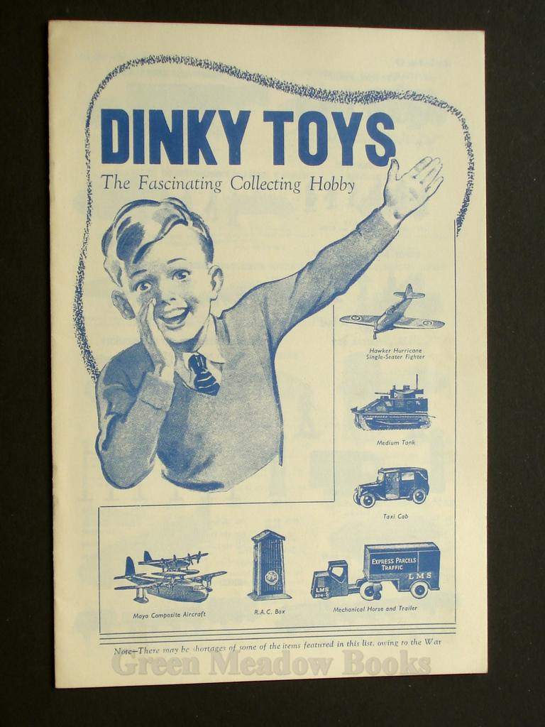 Image for DINKY TOYS  THE FASCINATING COLLECTING HOBBY!