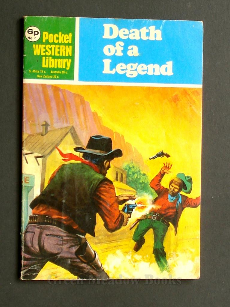 Image for POCKET WESTERN LIBRARY  No. 2  DEATH OF A LEGEND