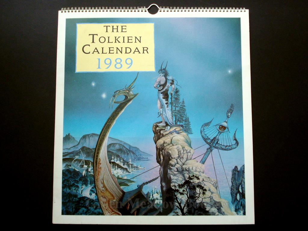 Image for TOLKIEN CALENDAR 1989