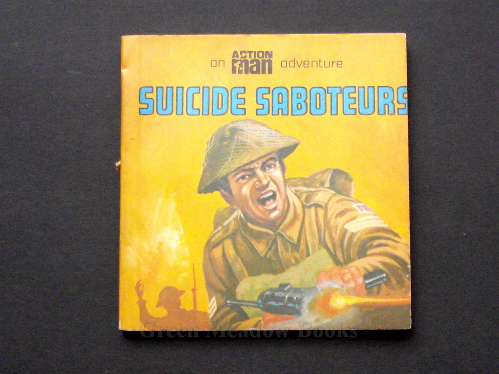 Image for SUICIDE SABOTEURS   AN ACTION MAN ADVENTURE