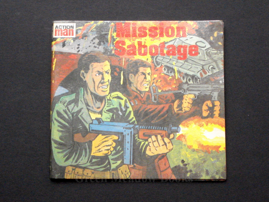 Image for MISSION SABOTAGE   ACTION MAN  Mini Story Books