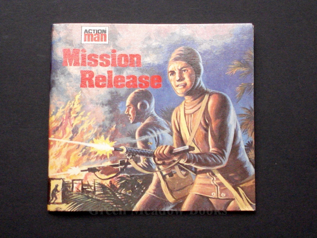Image for MISSION RELEASE   ACTION MAN  Mini Story Books