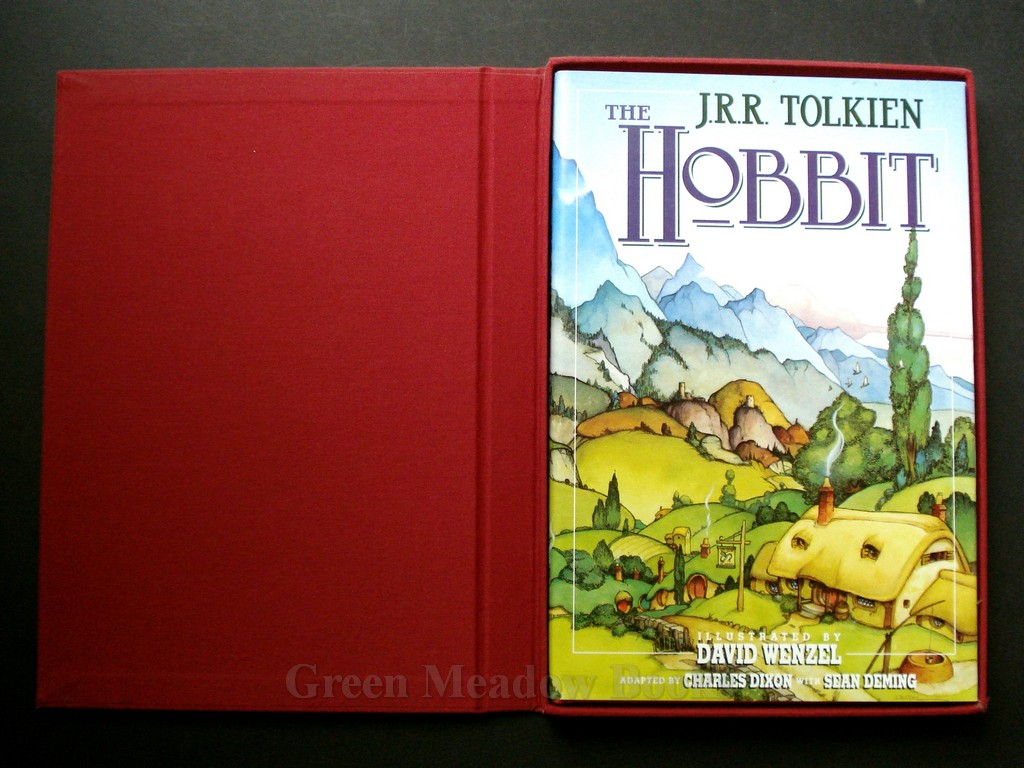 Image for THE HOBBIT    LIMITED NUMBERED DE LUXE SIGNED SLIPCASED EDITION!