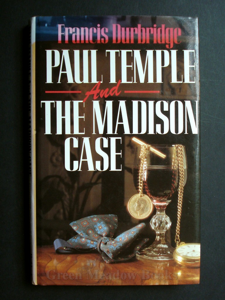 Image for PAUL TEMPLE AND THE MADISON CASE