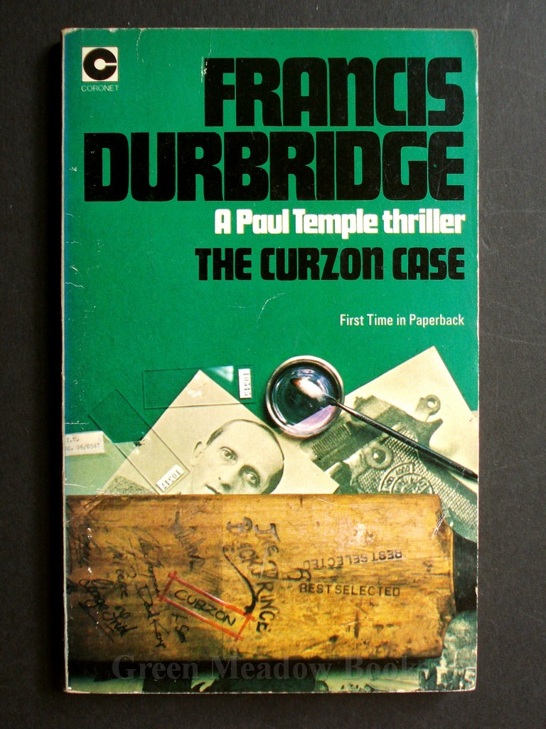 Image for THE CURZON CASE    A PAUL TEMPLE THRILLER!   FIRST TIME IN PAPERBACK