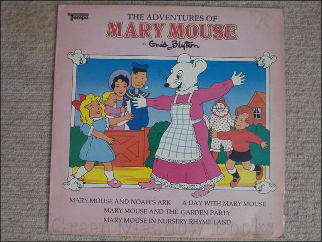 Image for RECORD: THE ADVENTURE OF MARY MOUSE  With Mary Mouse & the Noah's Ark, A Day With Mary Mouse, Mary Mouse and the Garden Party, and Mary Mouse in Nursery Rhyme Land