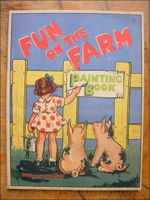 Image for FUN ON THE FARM Painting Book