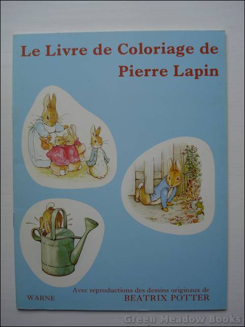 Image for FRENCH LANGUAGE: LE LIVRE DE COLORIAGE DE PIERRE LAPIN (Peter Rabbit)