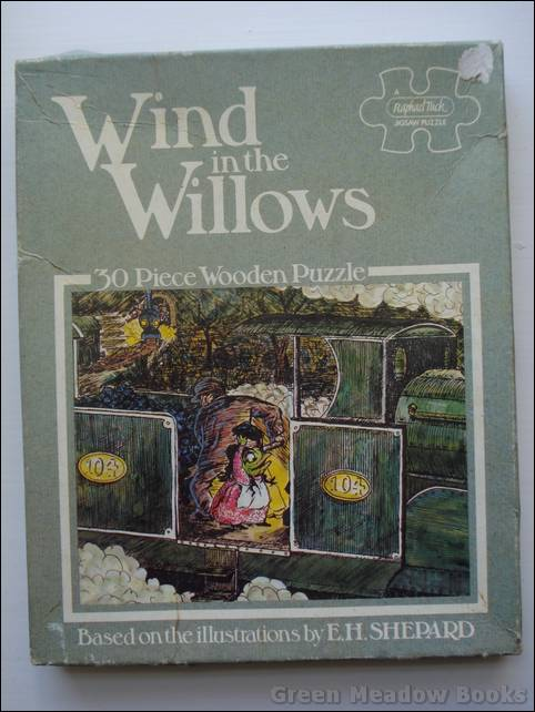 Image for THE WIND IN THE WILLOWS JIGSAW   Number 2  TOAD'S ADVENTURES