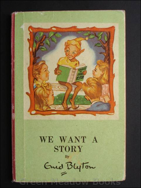 Image for WE WANT A STORY