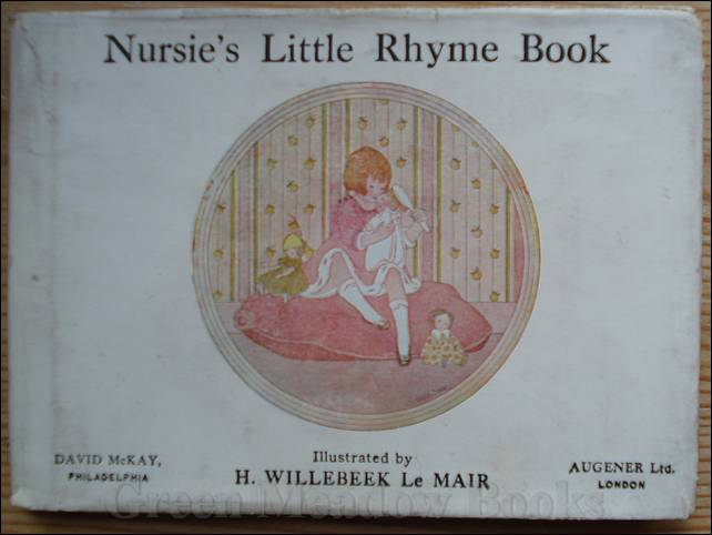 Image for NURSIE'S LITTLE RHYME BOOK
