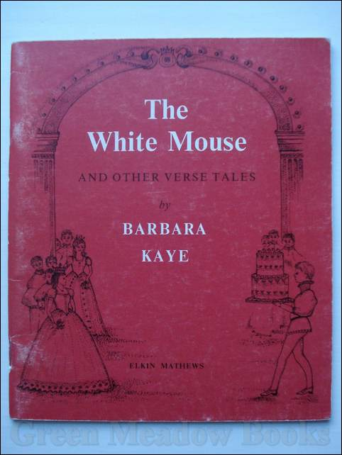 Image for THE WHITE MOUSE And Other Verse Tales