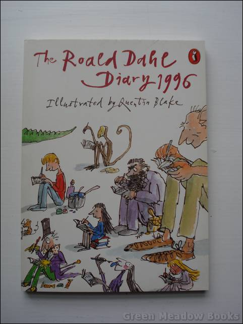 Image for THE ROALD DAHL DIARY FOR 1996