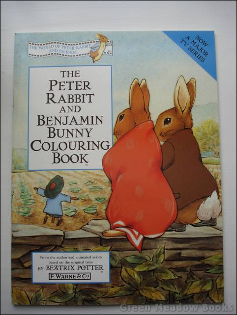 Image for THE PETER RABBIT AND BENJAMIN BUNNY COLOURING BOOK    From the Authorized Animated Series