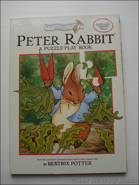Image for PETER RABBIT PUZZLE-PLAY BOOK