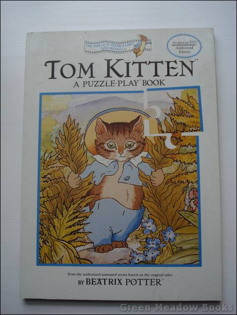 Image for TOM KITTEN PUZZLE-PLAY BOOK