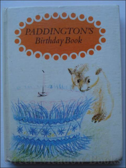 Image for PADDINGTON'S BIRTHDAY BOOK