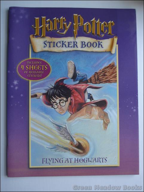 Image for HARRY POTTER    FLYING AT HOGWARTS STICKER BOOK