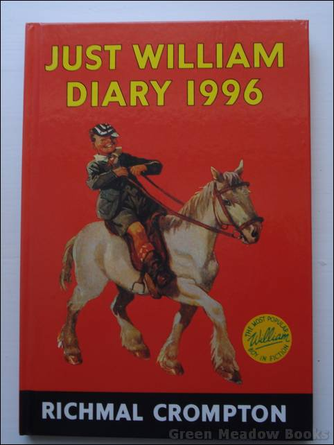 Image for JUST WILLIAM DIARY 1996