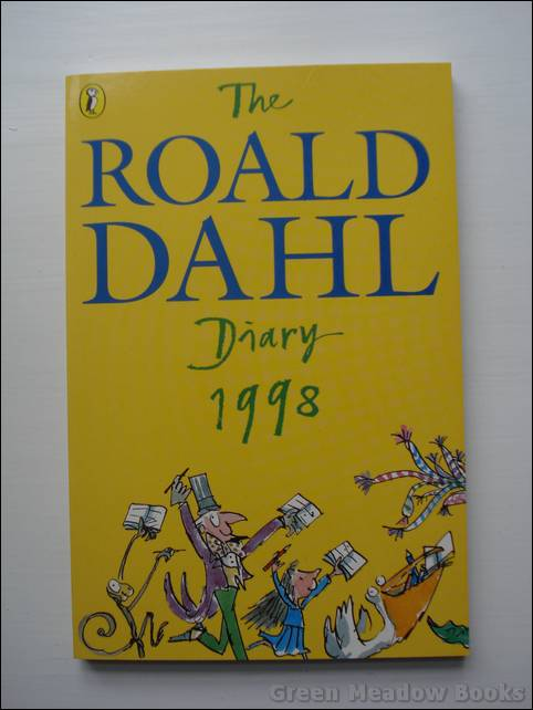 Image for THE ROALD DAHL DIARY FOR 1998