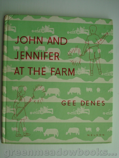 Image for JOHN AND JENNIFER AT THE FARM Photographs by Gee Denes