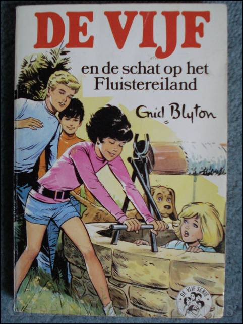 Image for DUTCH EDITION: DE VIJF EN DE SCHAT OP HET FLUISTEREILAND    FIVE HAVE A MYSTERY TO SOLVE