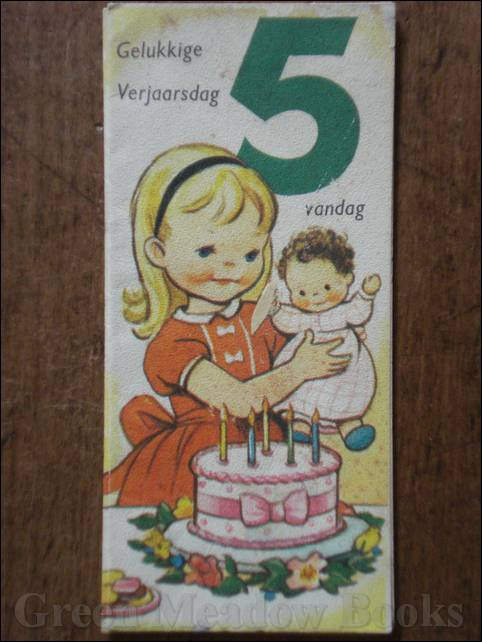 Image for DUTCH LANGUAGE: BIRTHDAY GREETING CARD