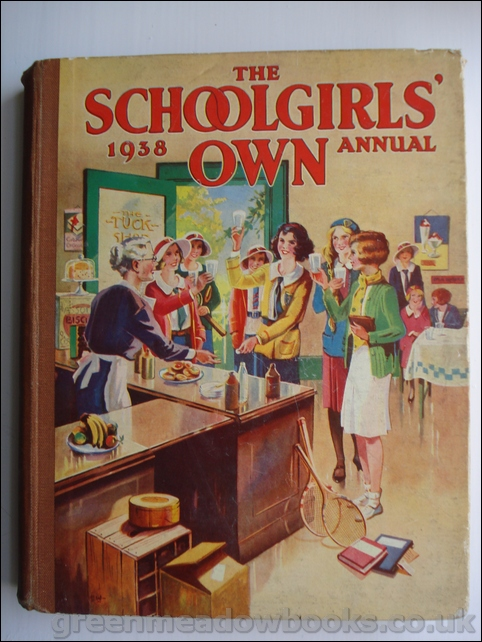Image for THE SCHOOLGIRLS' OWN ANNUAL 1938