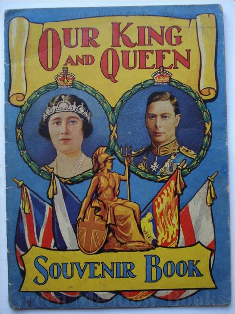 Image for OUR KING AND QUEEN    SOUVENIR BOOK Number 719