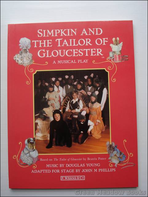 Image for SIMPKIN AND THE TAILOR OF GLOUCESTER    A MUSICAL PLAY