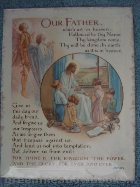 Image for OUR FATHER : NURSERY PICTURE