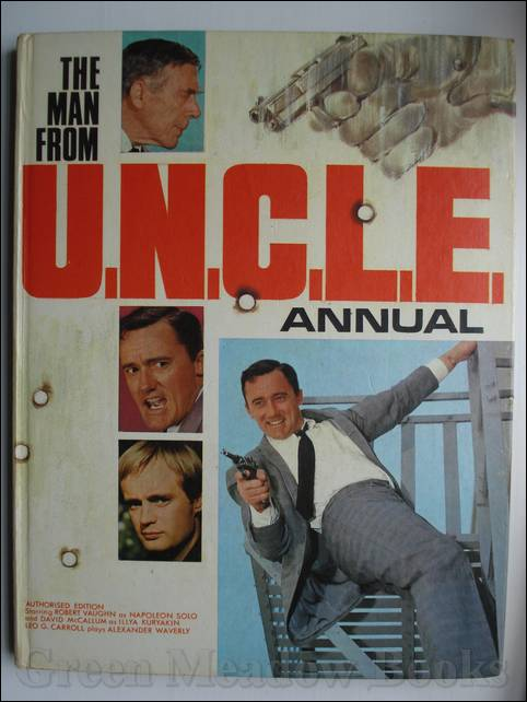Image for THE MAN FROM U.N.C.L.E. ANNUAL 1969