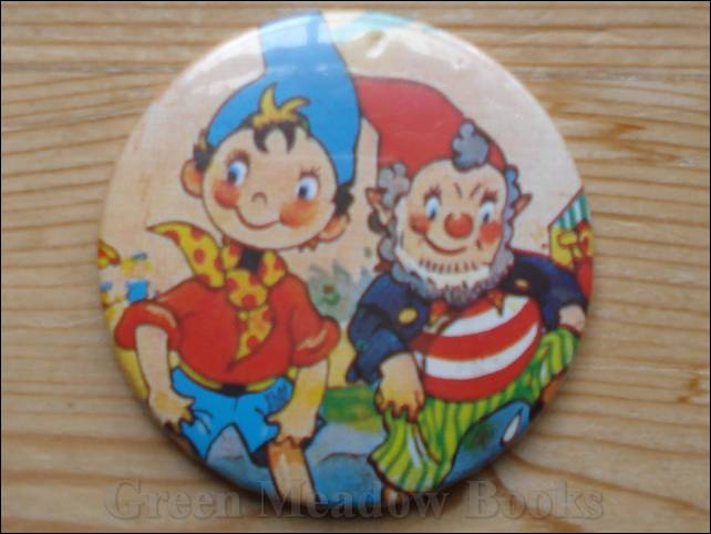 Image for NODDY: LARGE BADGE    NODDY AND BIG EARS PADDLING IN THE SEA