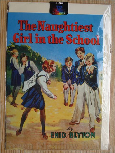 Image for GREETING CARD   THE NAUGHTIEST GIRL IN THE SCHOOL