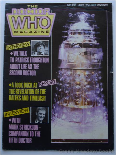 Image for DOCTOR WHO MAGAZINE NO. 102    GREAT COVER OF A DALEK
