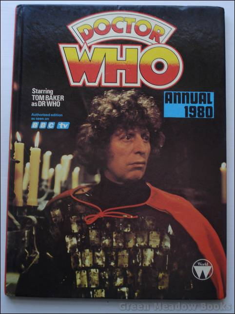 Image for DOCTOR WHO ANNUAL 1980   FEATURING TOM BAKER AS DOCTOR WHO