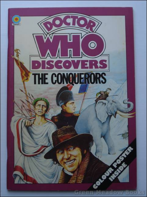 Image for DOCTOR WHO DISCOVERS THE CONQUERORS With Poster. TOM BAKER as THE DOCTOR