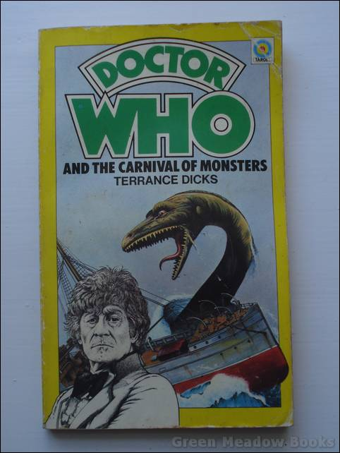 Image for DOCTOR WHO AND THE CARNIVAL OF MONSTERS   Cover picture of JON PERTWEE & Monster.