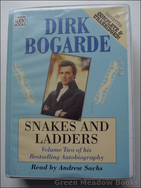 Image for SNAKES AND LADDERS   VOLUME TWO OF HIS BESTSELLING AUTOBIOGRAPHY. READ by ANDREW SACHS.