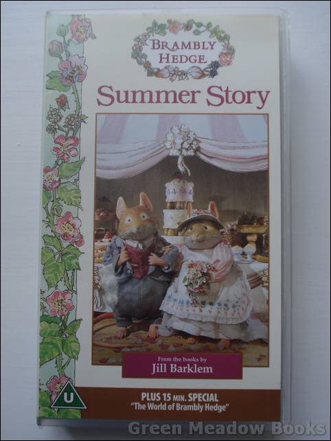 Image for SUMMER STORY  BRAMBLY HEDGE
