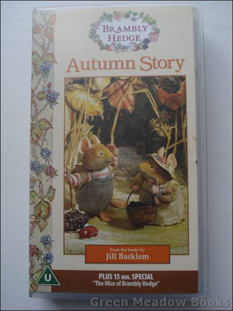 Image for AUTUMN STORY  BRAMBLY HEDGE