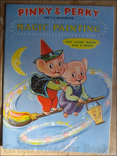 Image for PINKY & PERKY..... THE TV FAVOURITES MAGIC PAINTING! (1) A 51/5