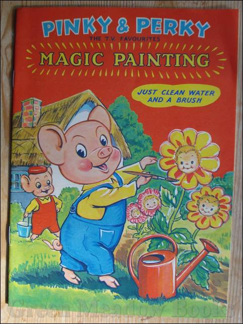Image for PINKY & PERKY..... THE TV FAVOURITES MAGIC PAINTING! (2) A51/4
