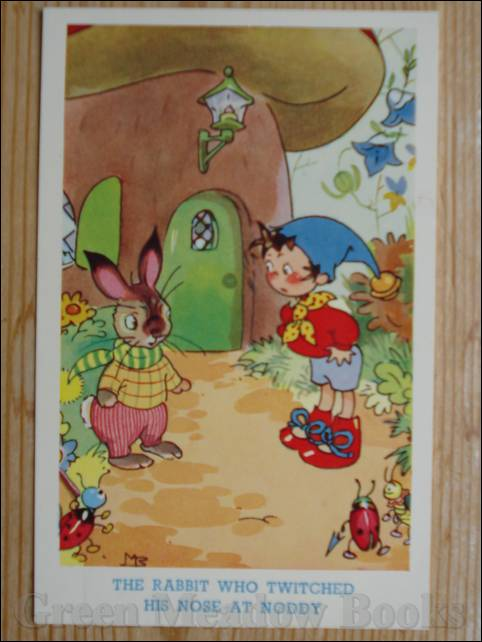 Image for NODDY POSTCARD    THE RABBIT WHO TWITCHED HIS NOSE AT NODDY