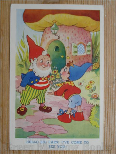 Image for NODDY POSTCARD    HULLO BIG EARS! I'VE COME TO SEE YOU!
