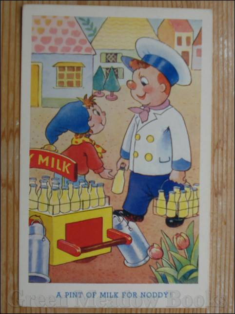 Image for NODDY POSTCARD    A PINT OF MILK FOR NODDY