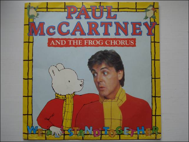 Image for PAUL McCARTNEY AND THE FROG CHORUS    WE ALL STAND TOGETHER
