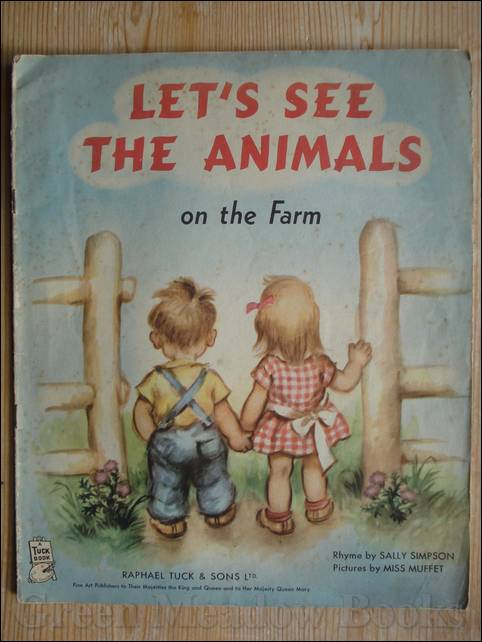 Image for LET'S SEE THE ANIMALS ON THE FARM     A TUCK BOOK!