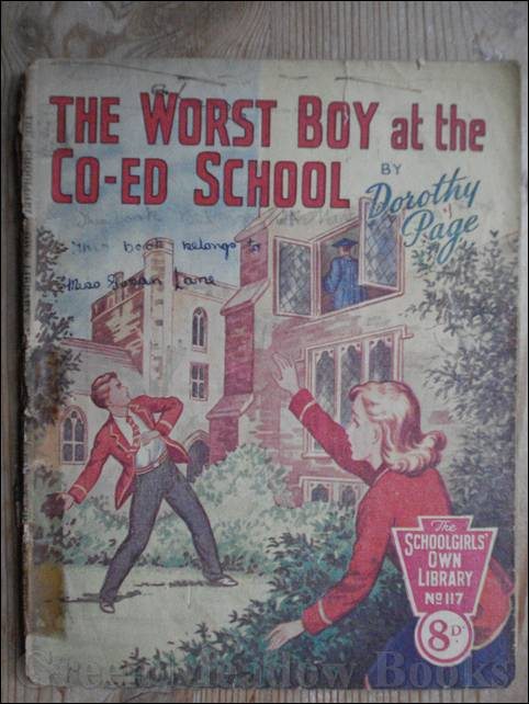 Image for SCHOOLGIRLS' OWN LIBRARY STORY PAPER: THE WORST BOY AT THE CO-ED SCHOOL